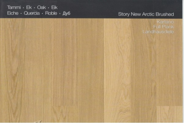 KARELIA OAK Story 138 BRUSHED NEW ARCTIC
