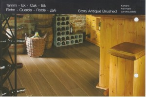 Паркетная доска KARELIA SPICE OAK STORY 188 BRUSHED ANTIQUE
